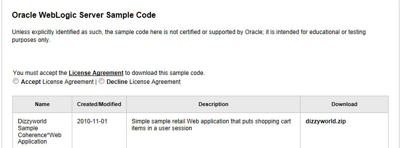 Deploying a Sample Web Application to an Oracle WebLogic
